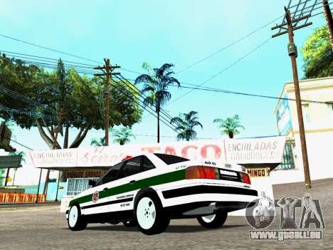 Audi 100 C4 1995 Police pour GTA San Andreas laissé vue