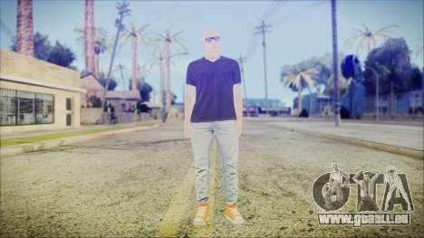 GTA Online Skin 55 pour GTA San Andreas deuxième écran