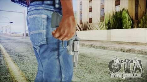 Snub Nose pour GTA San Andreas troisième écran