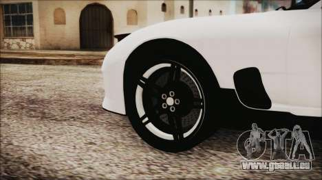 Mazda RX-7 Enhanced Version für GTA San Andreas zurück linke Ansicht