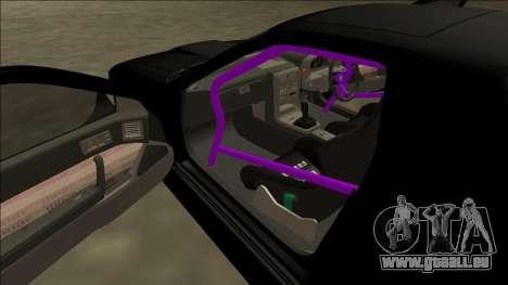 Mazda RX-7 FC Drift für GTA San Andreas obere Ansicht