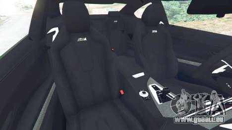 GTA 5 BMW M6 2013 rechte Seitenansicht