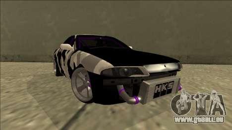 Nissan Skyline R32 Drift für GTA San Andreas Rückansicht