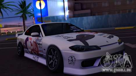 Nissan Silvia S15 Daily Drifters pour GTA San Andreas