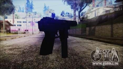 TEC-9 Tiger Stripe pour GTA San Andreas deuxième écran