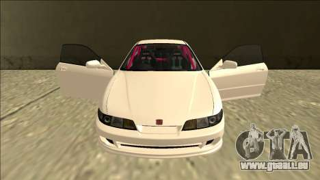 Honda Integra Drift pour GTA San Andreas vue de dessus