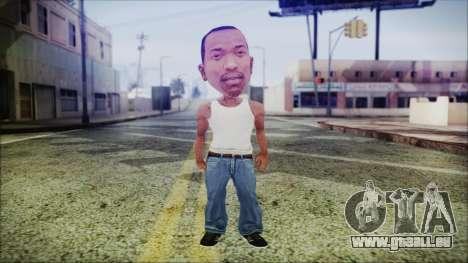 Mini CJ pour GTA San Andreas deuxième écran