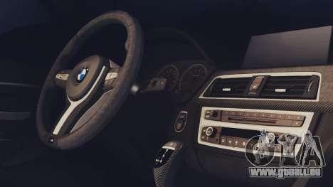 BMW M3 F30 SEDAN für GTA San Andreas zurück linke Ansicht