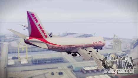 Boeing 747-237Bs Air India Harsha Vardhan pour GTA San Andreas laissé vue