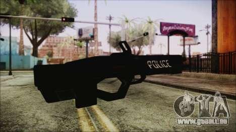 Cyberpunk 2077 Rifle Police pour GTA San Andreas deuxième écran