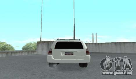 Toyota 4runner 2008 semi-off_road LED für GTA San Andreas rechten Ansicht