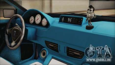 GTA 5 Albany Primo Custom Bobble Version IVF für GTA San Andreas Rückansicht