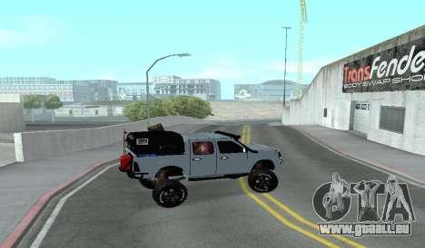 Chevrolet Luv D-MAX 2015 OFF-ROAD-GELÄNDE für GTA San Andreas linke Ansicht