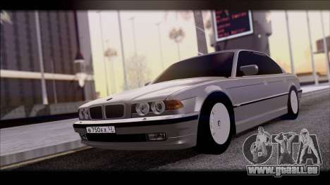BMW 7-er E38 pour GTA San Andreas