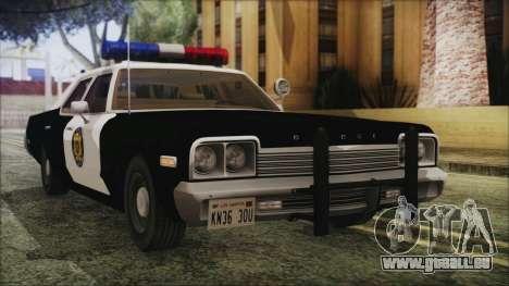 Dodge Monaco 1974 LVPD IVF pour GTA San Andreas