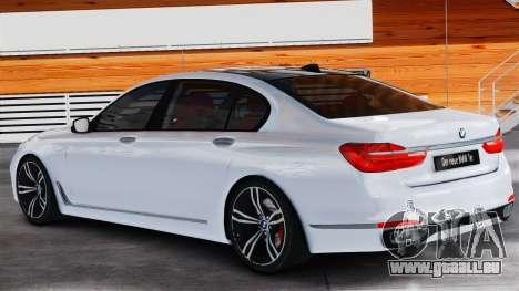 BMW 7-er 2016 v2.0 für GTA 4 linke Ansicht