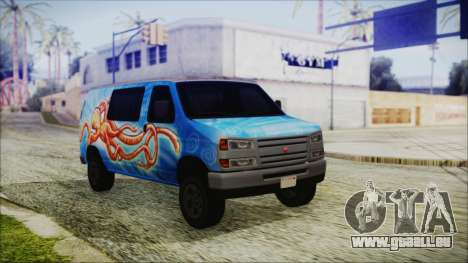 GTA 5 Bravado Paradise Octopus Artwork für GTA San Andreas