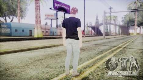 GTA Online Skin 43 pour GTA San Andreas troisième écran