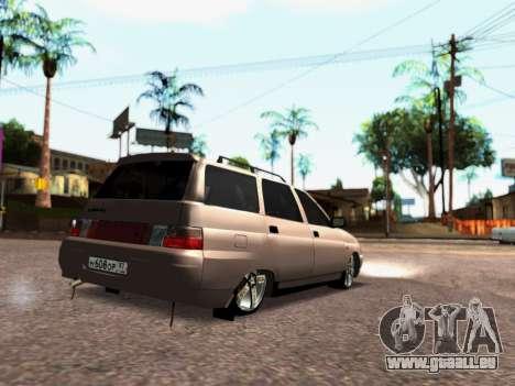 VAZ 2111 Tuning pour GTA San Andreas laissé vue