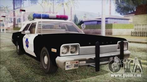 Dodge Monaco 1974 SFPD für GTA San Andreas
