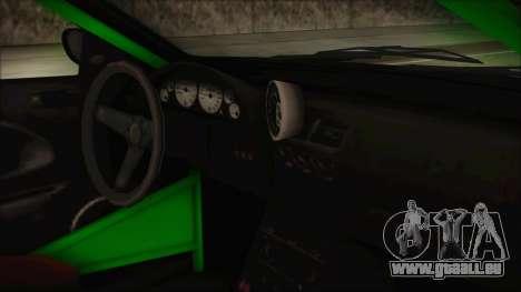 GTA 5 Sentinel RS pour GTA San Andreas vue de droite