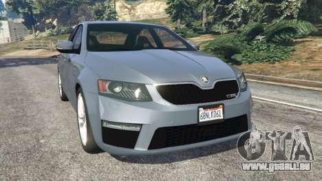 Skoda Octavia VRS 2014 [hatchback] für GTA 5