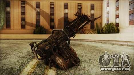 Fallout 4 Shredding Minigun pour GTA San Andreas deuxième écran