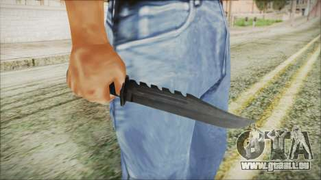 GTA 5 Knife v2 - Misterix 4 Weapons pour GTA San Andreas