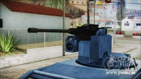 GTA 5 HVY Insurgent Pick-Up IVF pour GTA San Andreas vue de droite