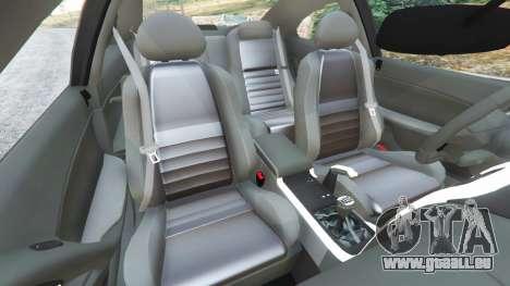 GTA 5 Holden Monaro CV8-R 2005 rechte Seitenansicht