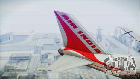 Boeing 747-237Bs Air India Harsha Vardhan für GTA San Andreas zurück linke Ansicht
