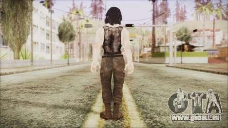 Rambo Shirt für GTA San Andreas dritten Screenshot