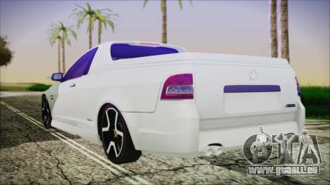 Holden Commodore SS Ute 2012 für GTA San Andreas linke Ansicht