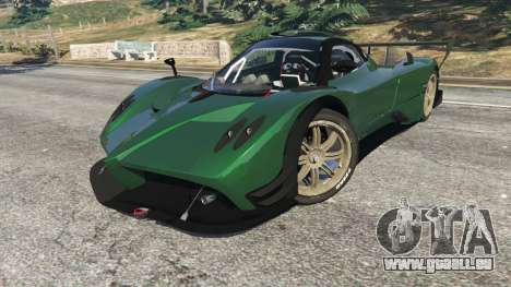 GTA 5 Pagani Zonda R v0.91 hinten rechts