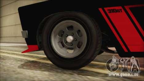GTA 5 Declasse Tampa IVF pour GTA San Andreas sur la vue arrière gauche