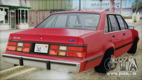 Ford LTD LX 1986 für GTA San Andreas linke Ansicht