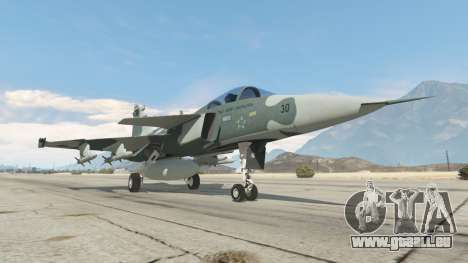 GTA 5 Saab JAS 39 Gripen NG FAB [Beta] sechster Screenshot