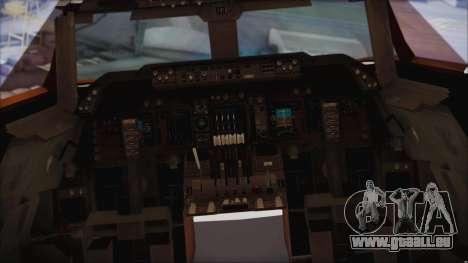 Boeing 747-237Bs Air India Rajendra Chola für GTA San Andreas rechten Ansicht