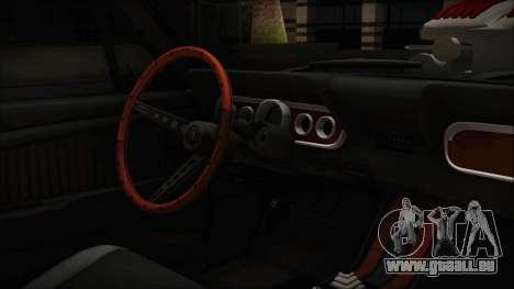 Ford Mustang Fastback 1966 Chrome Edition pour GTA San Andreas vue de droite
