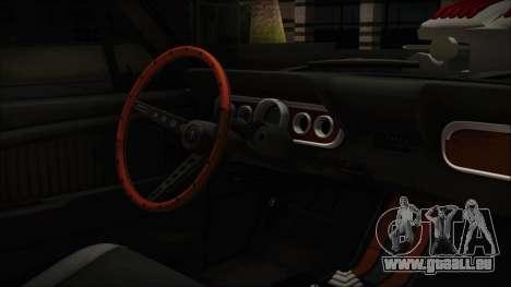 Ford Mustang Fastback 1966 Chrome Edition pour GTA San Andreas vue de droite