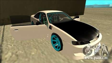 Nissan Silvia S14 Drift für GTA San Andreas Räder