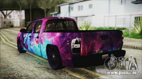 GMC Sierra Galaxy pour GTA San Andreas laissé vue