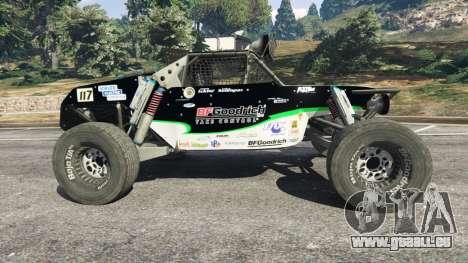 GTA 5 Ickler Jimco Buggy [Beta] vue latérale gauche