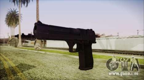 PayDay 2 Deagle pour GTA San Andreas deuxième écran