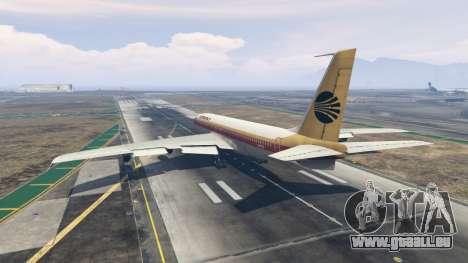GTA 5 Boeing 707-300 troisième capture d'écran