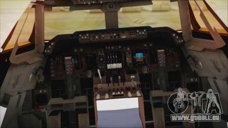 Boeing 747-237Bs Air India Samudragupta für GTA San Andreas rechten Ansicht