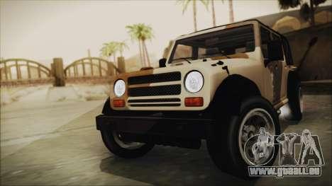 GTA 5 Canis Crusader für GTA San Andreas