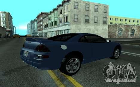 Mitsubishi Eclipse GTS Tunable pour GTA San Andreas laissé vue