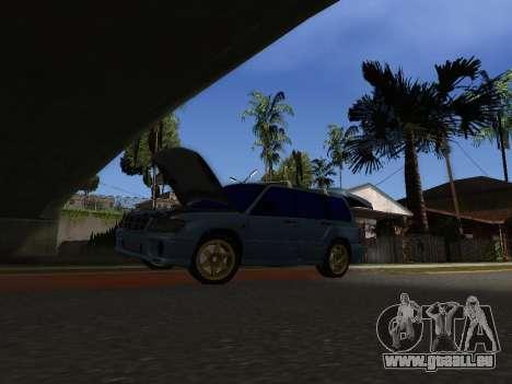 Subaru Forester 1998 pour GTA San Andreas vue de droite