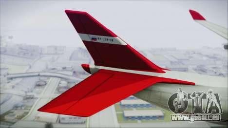 GTA 5 Cargo Plane für GTA San Andreas zurück linke Ansicht